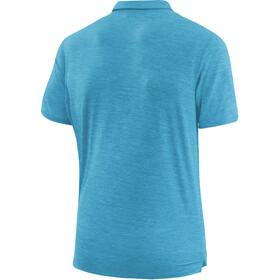 Löffler Softtouch CF Poloshirt Heren, enamel blue